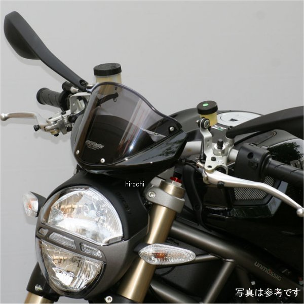 MRA 4548664813544 JP店 エムアールエー ドゥカティ オリジナル 黒 モンスター696、1100 スクリーン