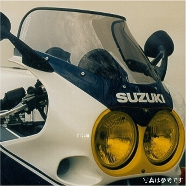 エムアールエー MRA スクリーン スポイラー 88年-90年 GSXR750 スモーク 4520616686208 JP店
