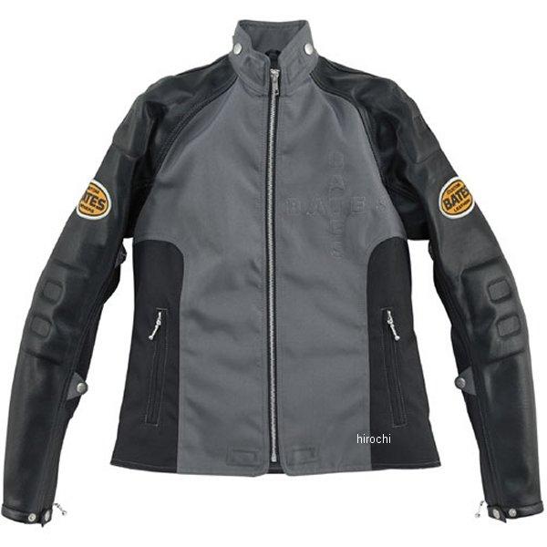 ベイツ BATES ナイロン&シンセティックレザージャケット レディース 黒 Mサイズ BAJ-LA077N JP店