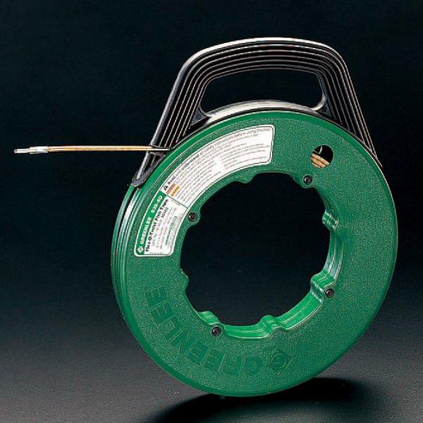 【メーカー在庫あり】 エスコ ESCO 4.8mmx30m フィッシュテープ(フレキシブルスチ-ル製 000012015297 JP店