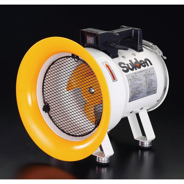 【メーカー在庫あり】 エスコ ESCO AC100V/200W/φ280mm ダクトファン 低騒音 000012090188 JP店