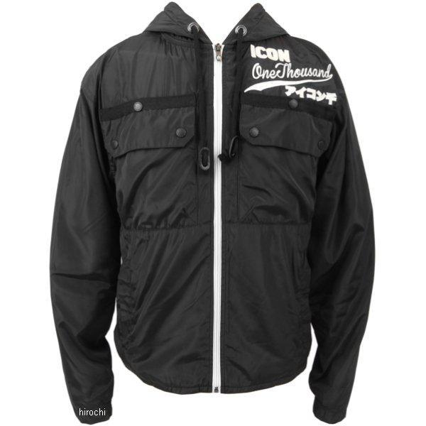 アイコン ICON ジャケット ODL ロングスリーブ 黒 2Xサイズ 2820-2908 JP店