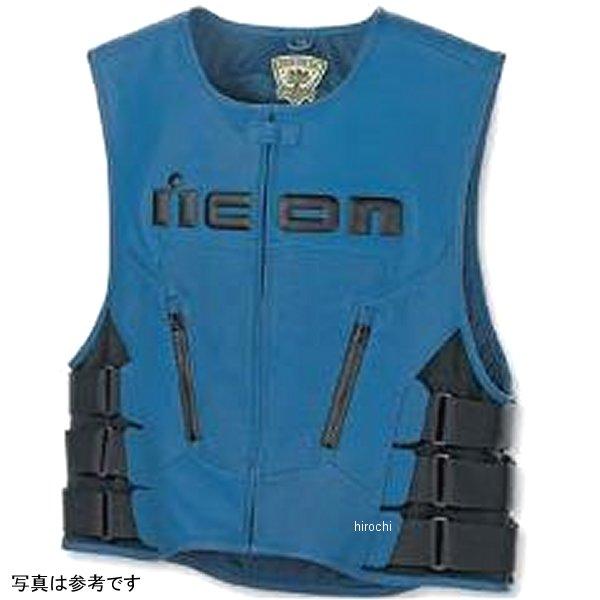 アイコン ICON レギュレター ベスト 青 2X/3Xサイズ 2830-0052 JP店