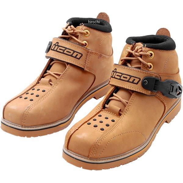 【メーカー在庫あり】 アイコン ICON ブーツ SUPERDUTY4 ウィート 12サイズ 30cm 3403-0194 JP店