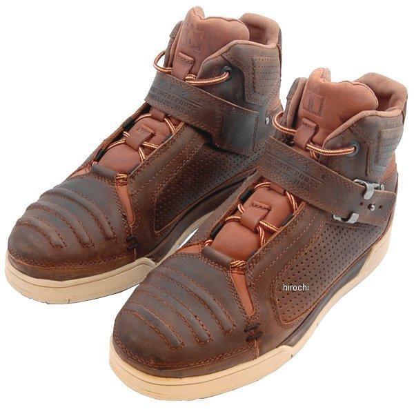 【メーカー在庫あり】 アイコン ICON ブーツ CE TRUANT ブラウン 13サイズ 31cm 3403-0561 JP店