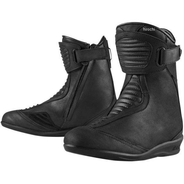 【メーカー在庫あり】 アイコン ICON ブーツ CE EASTSIDE レディース 黒 5サイズ 21cm 3403-0618 JP店