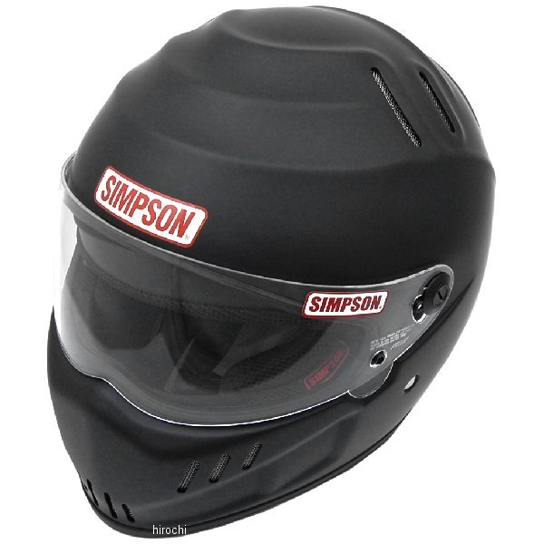 シンプソン SIMPSON ヘルメット スピードウェイ RX12 黒(つや消し) 61cm 4562363243624 JP店