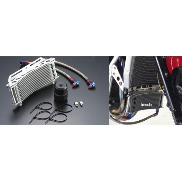 アクティブ ACTIVE ステーセット ラウンドオイルクーラーキット補修用 9インチ13段 14057611 購買 08年以前 JP店 ZRX1200 ZRX1100 祝日
