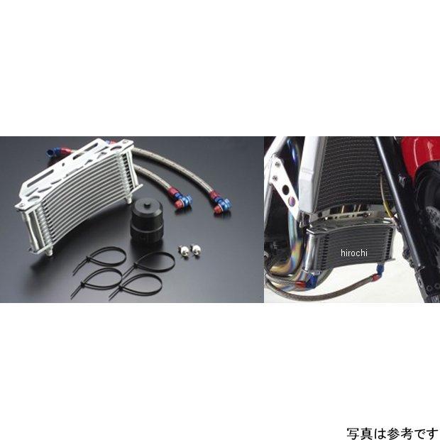 アクティブ ACTIVE ステーセット ラウンドオイルクーラーキット補修用 9インチ13段 08年以前 ZRX1200、ZRX1100 黒 14057611B JP店