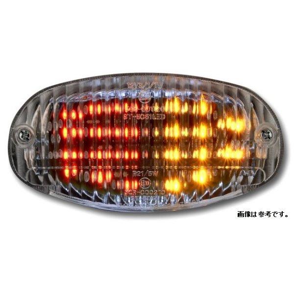 オダックス Odax LED テール ライト クリア ヤマハ DS400/1100 ALL BALIUS JST-353537-L JP店