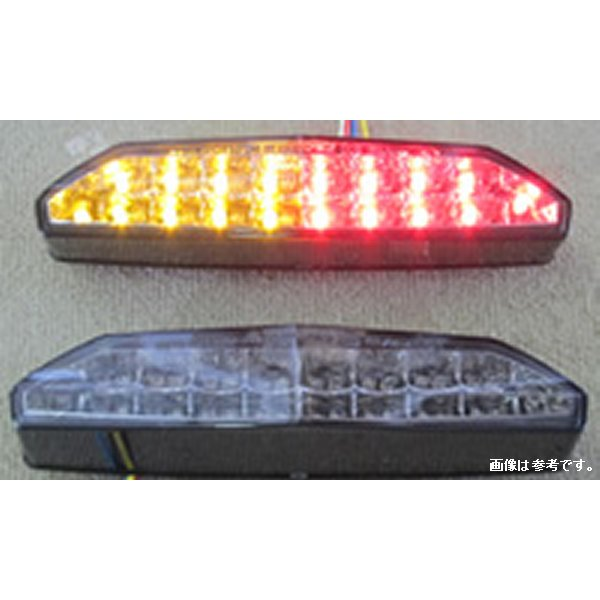 オダックス Odax インテグレートテールライト 07年以降 1400GTR、ZX-6R、 ZRX1200DAEG スモーク JST-352013C-W-S JP店