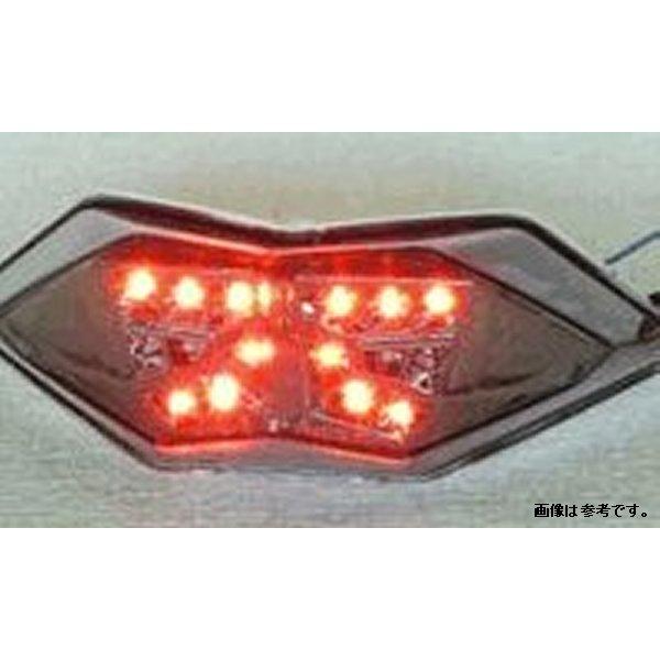 オダックス Odax インテグレートテール ライト ライトスモーク カワサキ Ninja250/300 Z250 13年以降 JST-352032C-W-S JP店