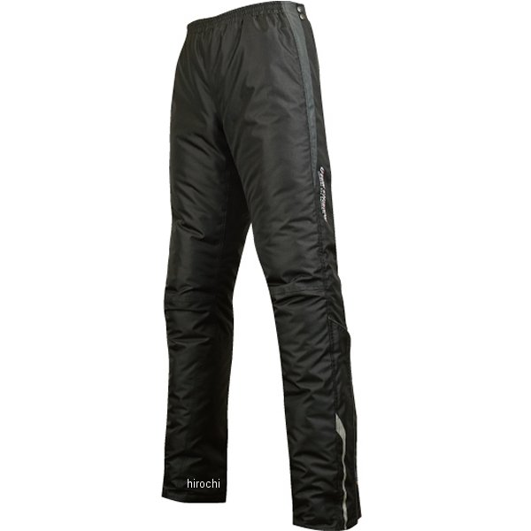 ラフ&ロード 秋冬モデル クイックオープンオーバーパンツ 黒 スリムLサイズ RR7716BK-SL3 JP店