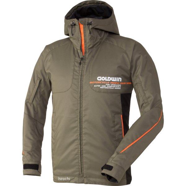 ゴールドウイン GOLDWIN GWSマルチフーデッドオールシーズンジャケット アーミーグリーン XXLサイズ GSM12658 JP店