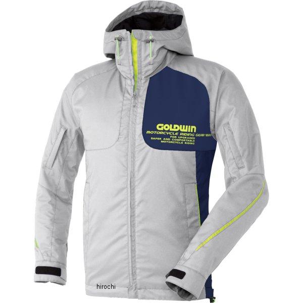 ゴールドウイン GOLDWIN GWSマルチフーデッドオールシーズンジャケット プラチナ×ネービー Lサイズ GSM12658 JP店