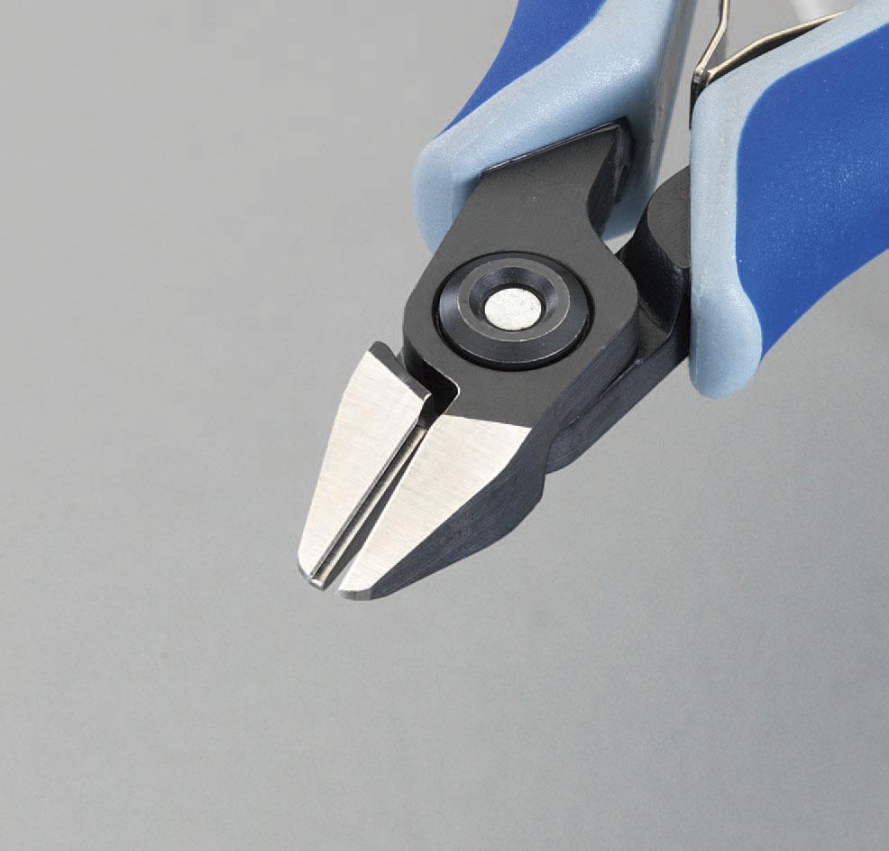 【メーカー在庫あり】 エスコ ESCO 125mm 精密用ニッパー(グリップ バネ付) 000012209083 JP