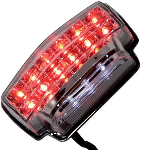 【USA在庫あり】 Moto MPH LEDテールライト クリア 07年-12年 CBR600RR 2010-0948 JP店