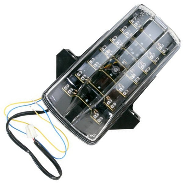 【USA在庫あり】 Moto MPH LEDテールライト ステルス 03年-09年 SV1000、SV650 2010-0989 JP店