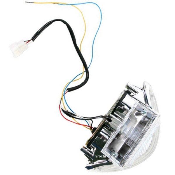 【USA在庫あり】 Moto MPH LEDテールライト クリア 97年-07年 ハヤブサ GSX1300R 2010-0990 JP店