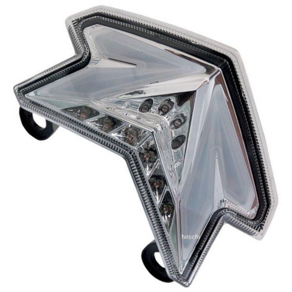 【USA在庫あり】 Moto MPH LEDテールライト クリア 13年 ニンジャ ZX-6R 2010-1089 JP店