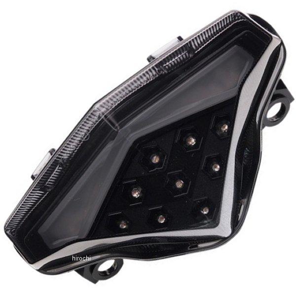 【USA在庫あり】 Moto MPH LEDテールライト ブラックアウト 12年-13年 ER-6 2010-1214 JP店