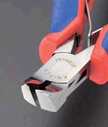 【メーカー在庫あり】 エスコ ESCO 115mm 精密用エンドニッパー(グリップ バネ付) 000012057580 JP
