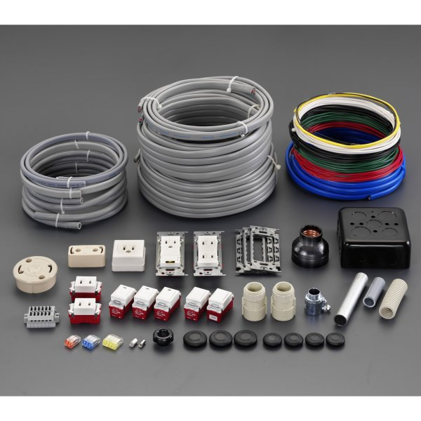 【メーカー在庫あり】 エスコ ESCO 電気工事士技能試験 部材セット 000012262405 JP