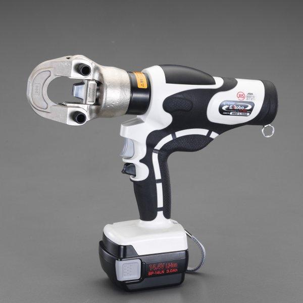 【メーカー在庫あり】 エスコ ESCO 14.0-200mm2 充電式油圧圧着工具 000012252661 JP