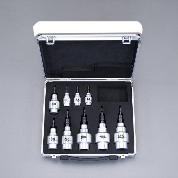 14-325mm2 ケーブルストリッパーセット(電気ドリル用) エスコ 000012254855 ESCO JP店 【メーカー在庫あり】