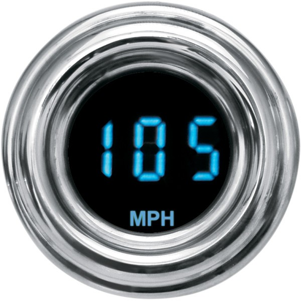 【USA在庫あり】 ダコタデジタル Dakota Digital スピードメーター(MPH) 4000ミニ レトロ 青 2210-0063 JP店