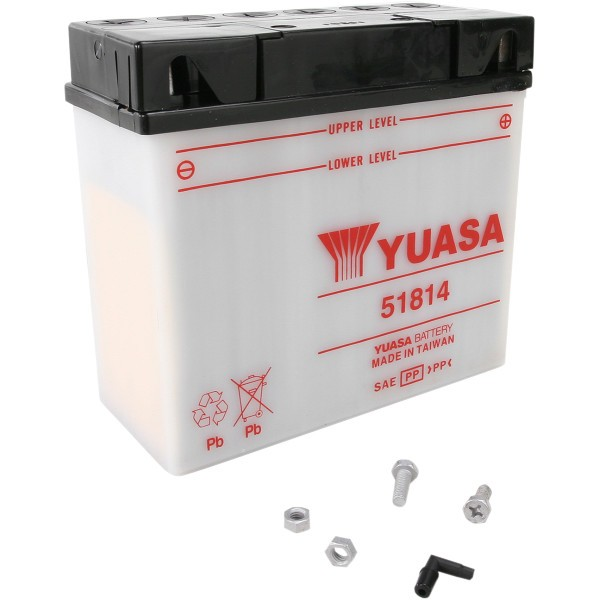【USA在庫あり】 ユアサ YUASA YuMiCRON バッテリー 開放型 12V 51814 JP店
