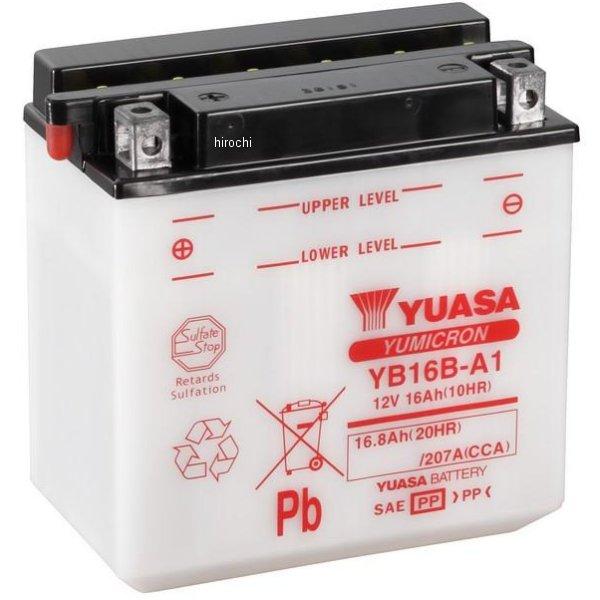 【USA在庫あり】 ユアサ YUASA バッテリー 開放型 YB16B-A1 JP店