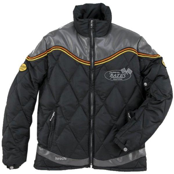 ベイツ BATES ナイロン&シンセティックレザージャケット グレー Lサイズ BJ-F1658 JP店