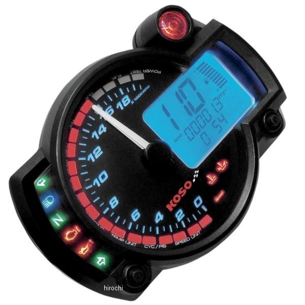 【USA在庫あり】 コソ KOSO RX-2N スピード&タコメーター 20000rpm 2201-0075 JP