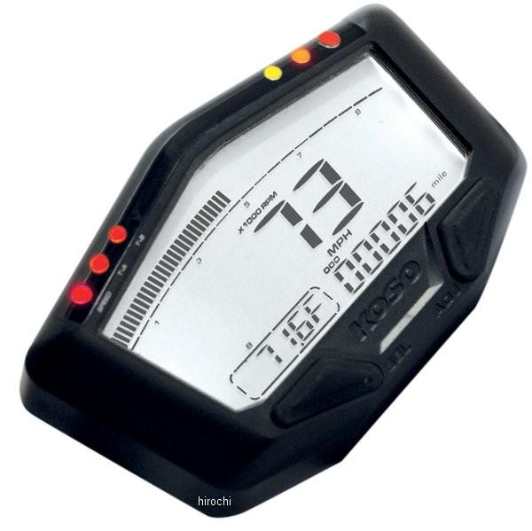 【USA在庫あり】 コソ KOSO DB-02R マルチ スピードメーター 0-360 km/h 2201-0083 JP店