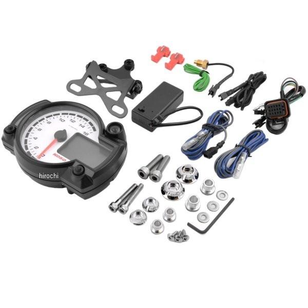 【USA在庫あり】 コソ KOSO RX2-NR GPスタイル レースタコメーター 16000rpm 2201-0085 JP店