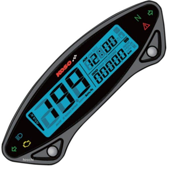 【USA在庫あり】 コソ KOSO マルチ スピードメーター EX02S-ST キット 2210-0366 JP店