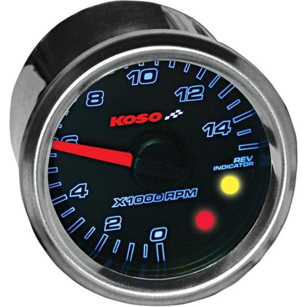 【USA在庫あり】 コソ KOSO GP2 タコメーター 15000rpm 汎用 2211-0130 JP