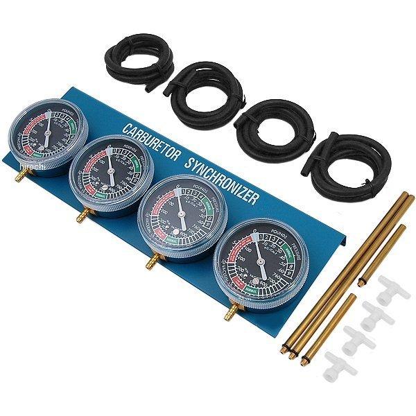 【USA在庫あり】 Parts Unlimited バキューム キャブレター シンクロナイザー 4-キャブレターセット 3804-0005 JP店