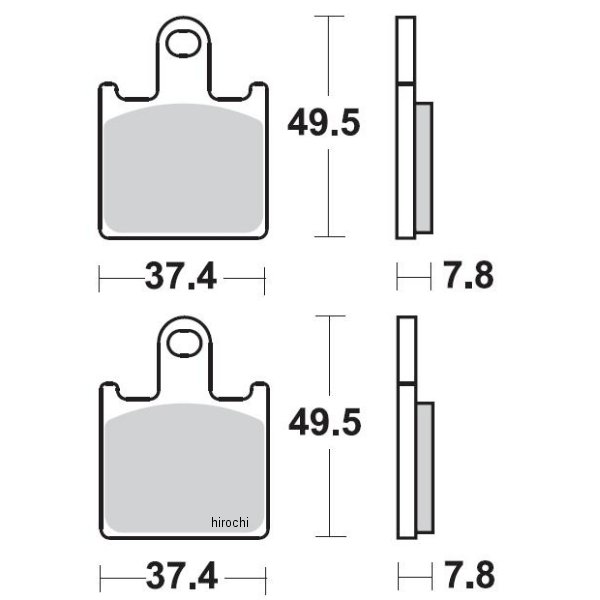【USA在庫あり】 ブレーキング BRAKING ブレーキパッド フロント 06年-13年 ZG1400、GSX1300BK (CM66 セミメタル) 1721-0733 JP店