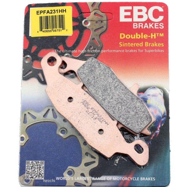 【USA在庫あり】 EBC イービーシー ブレーキパッド フロント 98年-06年 GSX750、GSX600 (EX-Performance シンタード) 1721-0850 JP店