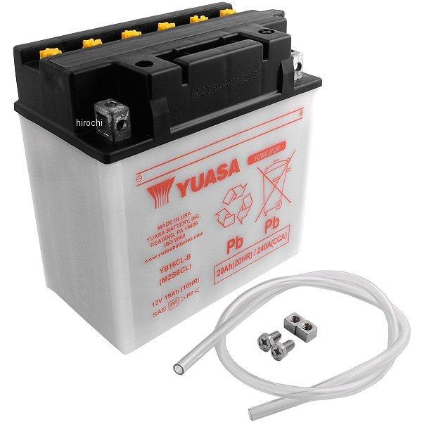 【USA在庫あり】 ユアサ バッテリー 開放型 YB16CL-B 581101 JP