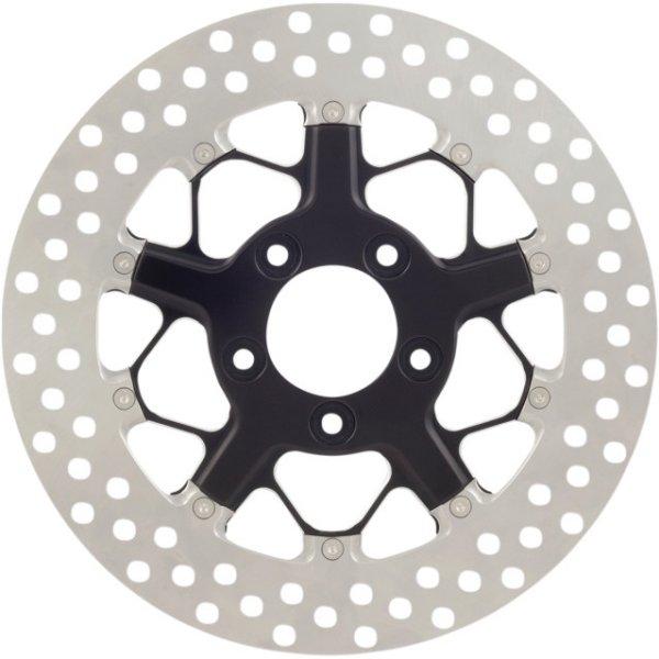 【USA在庫あり】 ローランドサンズデザイン RSD ブレーキローター 11.8インチ フロント 左または右 08年以降 FLT ヒッチコントラスト 1710-3042 JP