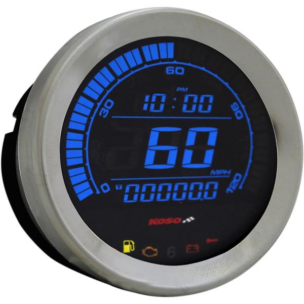 【USA在庫あり】 コソ KOSO スピードメーター 4インチ(102mm) 04年-13年 クローム 2210-0404 JP