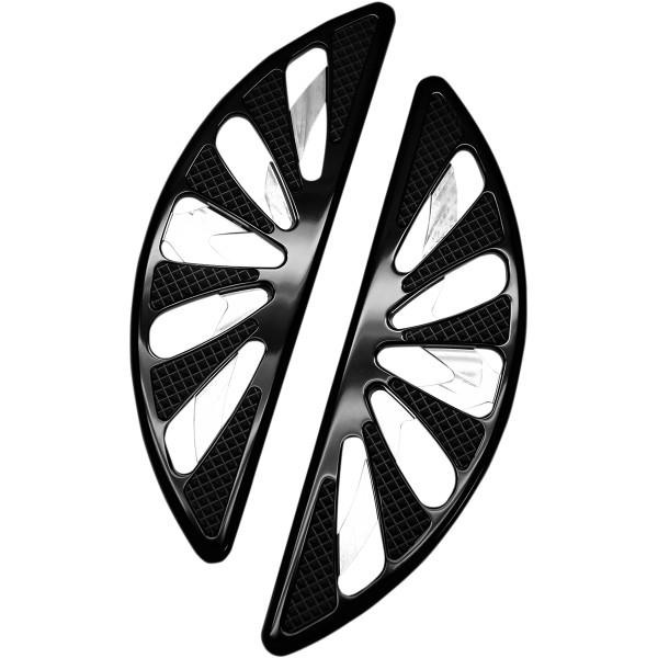 【USA在庫あり】 カールブロウハード Carl Brouhard Designs パッセンジャーフットボード スピロ 黒 1621-0751 JP店
