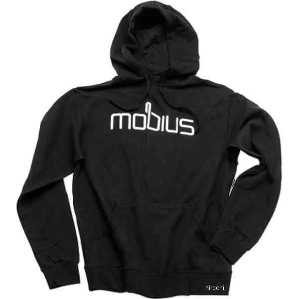【USA在庫あり】 メビウス mobius パーカー 黒 Sサイズ 3050-2983 JP店