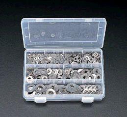 【メーカー在庫あり】 エスコ ESCO M3-M12 平ワッシャーセット ステンレス製 000012024392 JP店