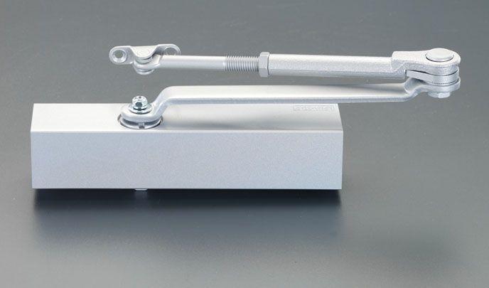 エスコ ESCO 85kg以下 ドアクローザー 標準型/シルバー 000012095059 JP店