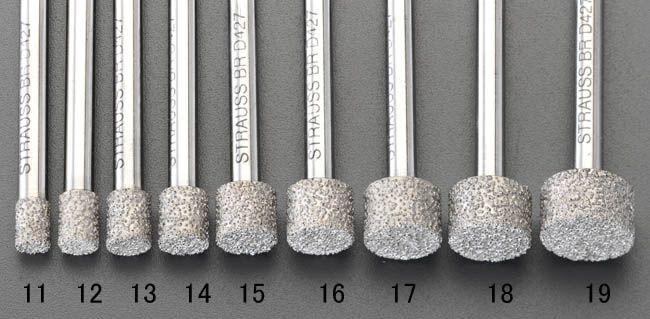 【メーカー在庫あり】 エスコ ESCO 15x10mm ダイヤモンドバー 6mm軸 000012081209 JP店