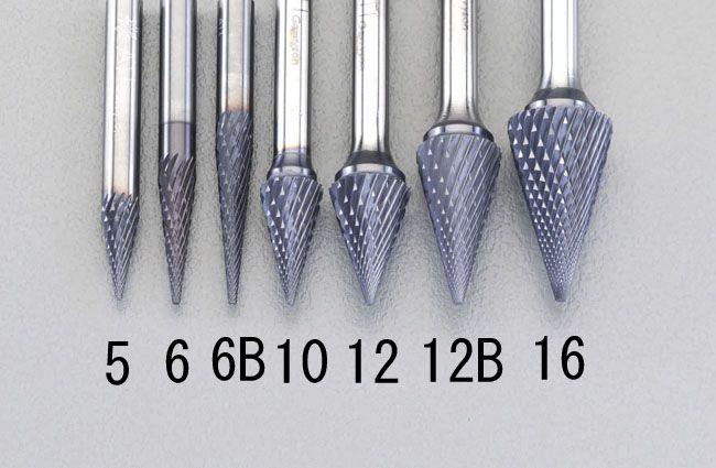 【メーカー在庫あり】 エスコ ESCO 16x22mm/6mm軸 Coated 超硬バー 000012213060 JP店